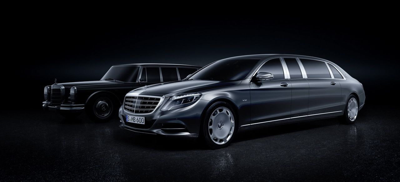 #Mercedes #Maybach #Pullman (2015)