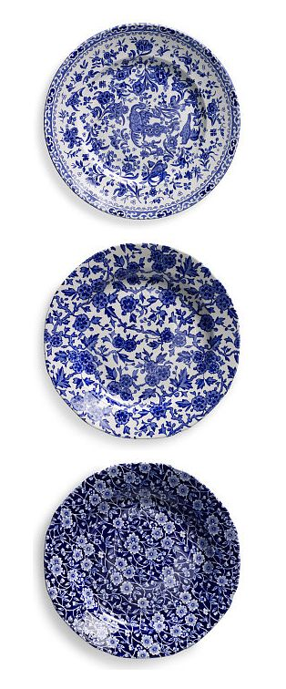 Ralph Lauren Home Blue And White Tabletop Regal Peacock Arden And Calico Salad Plates Blue And White Dinnerware Blue And White China Blue And White Blue and white salad plates