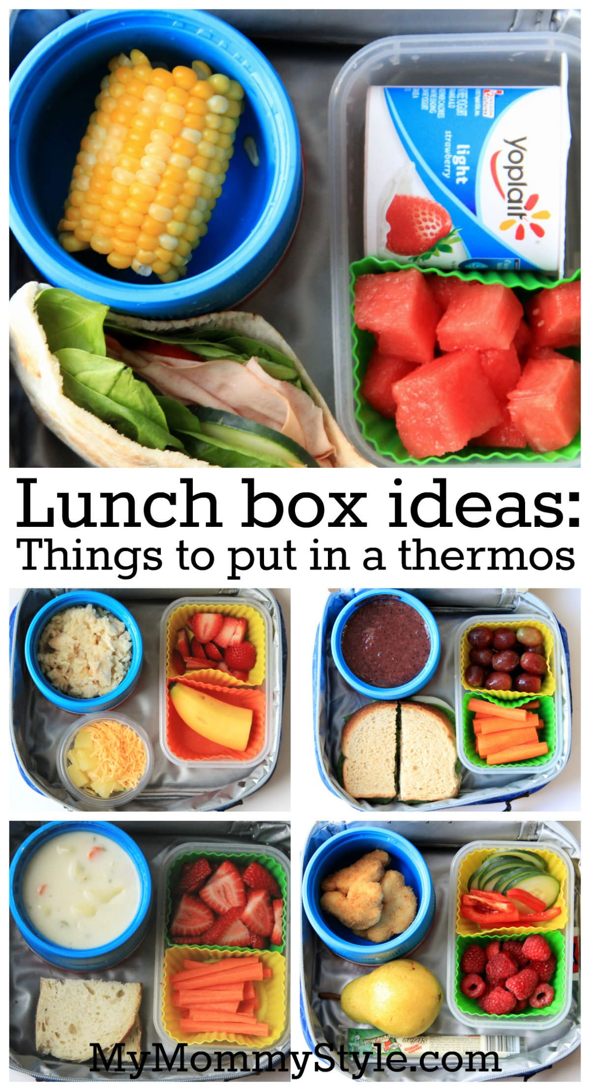 Lunch Box Ideas: Things to put in a thermos images