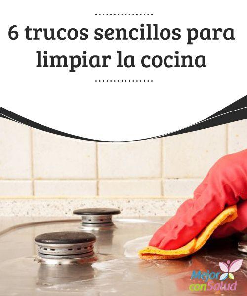 6 trucos sencillos para limpiar la cocina si hay una zona - Trucos para limpiar azulejos ...