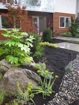 Modern Pacific Northwest Landscape Design Ideas, Pictures, Remodel And Decor
