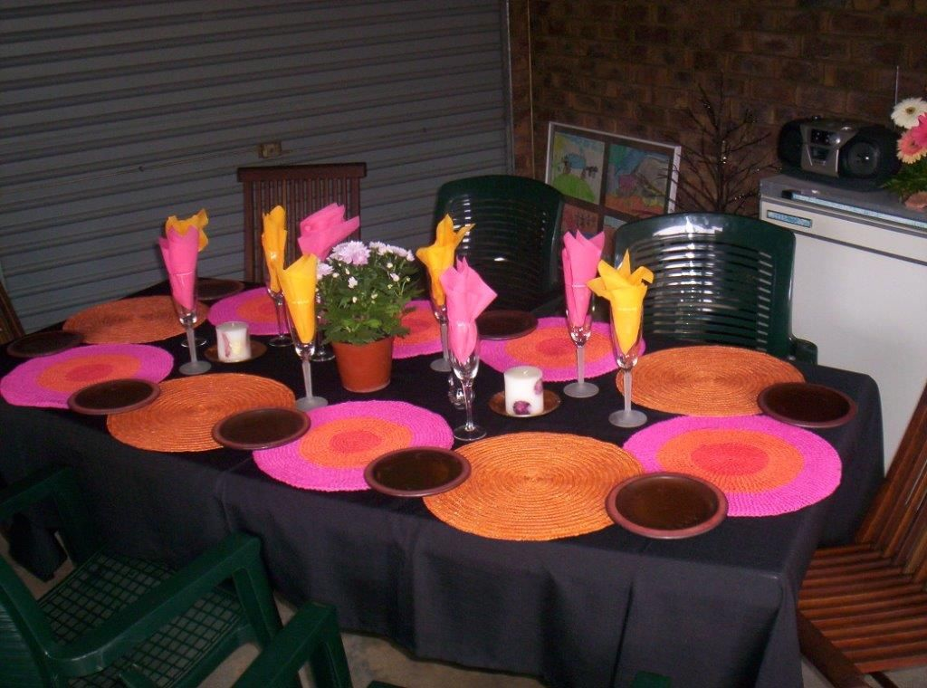 Informal Party Table Decorations For Teens Decor