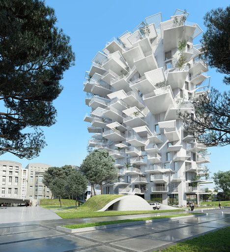 "Sou Fujimoto designs tree-inspired tower for Montpellier ""modern follies"" project. He has done it again"