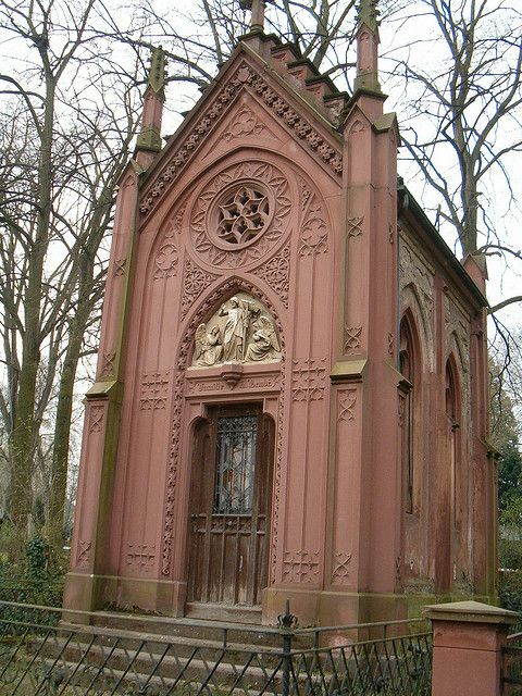 It's always quiet ~ Friedhof Mainz, Germany