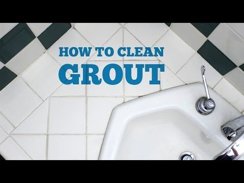 How To Clean Bathroom Tile Grout Grout Cleaner Cleaning Ceramic Tiles Bathroom Cleaning