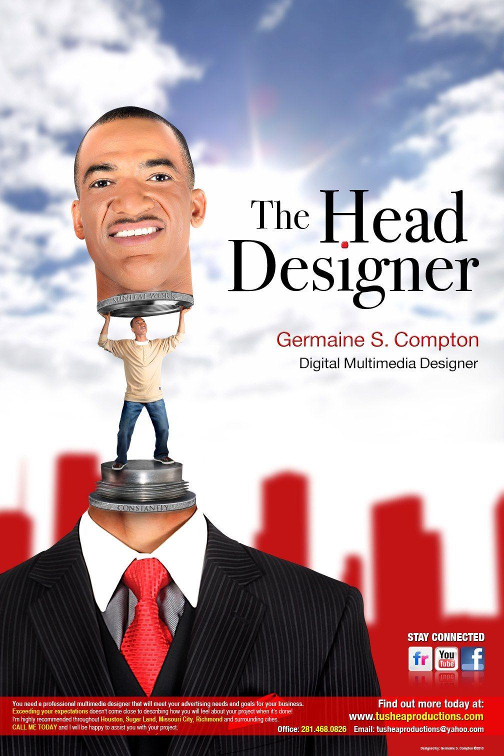 Advertisement selfpromo poster digital multimedia self