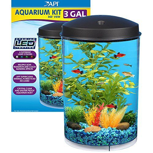 Using Shop Lights For Aquarium: Shop KollerCraft Aqua View 360 Aquarium Kit With LED Light
