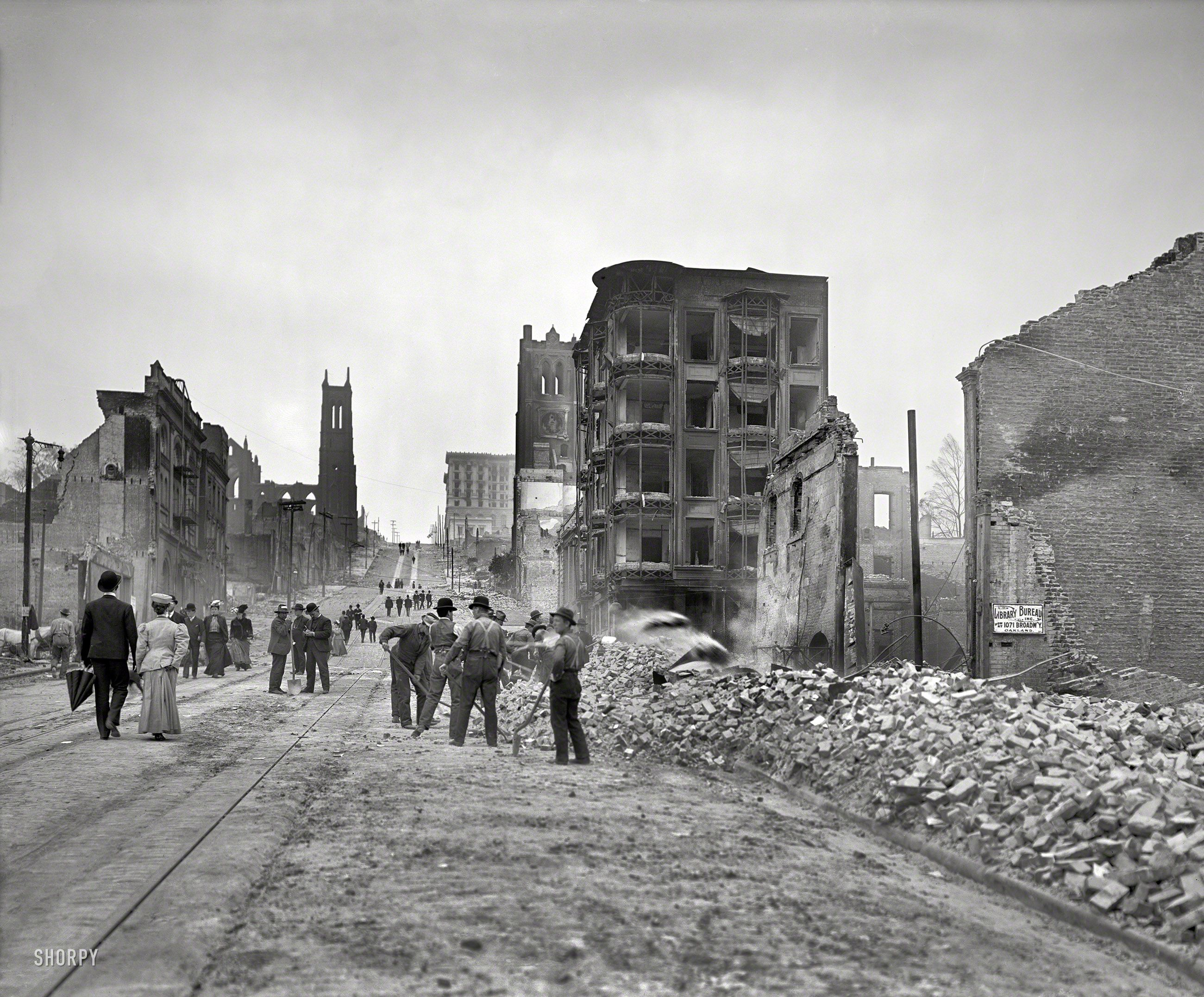 aftermath of the great san francisco earthquake and fire of april 18 1906 8x10 inch dry plate glass negative pinterest hist