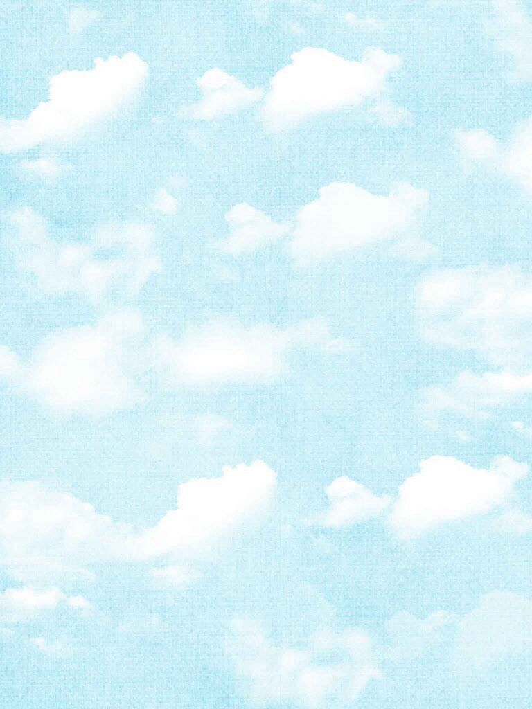 Cute Sky And Clouds Wallpaper Cute Screen Savers Shades Of Light Blue Cloud Wallpaper