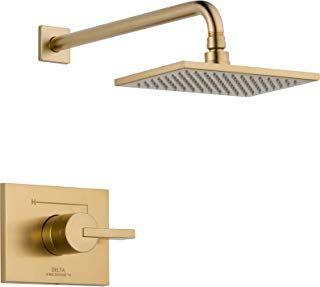 delta trinsic champagne bronze Bronze faucet