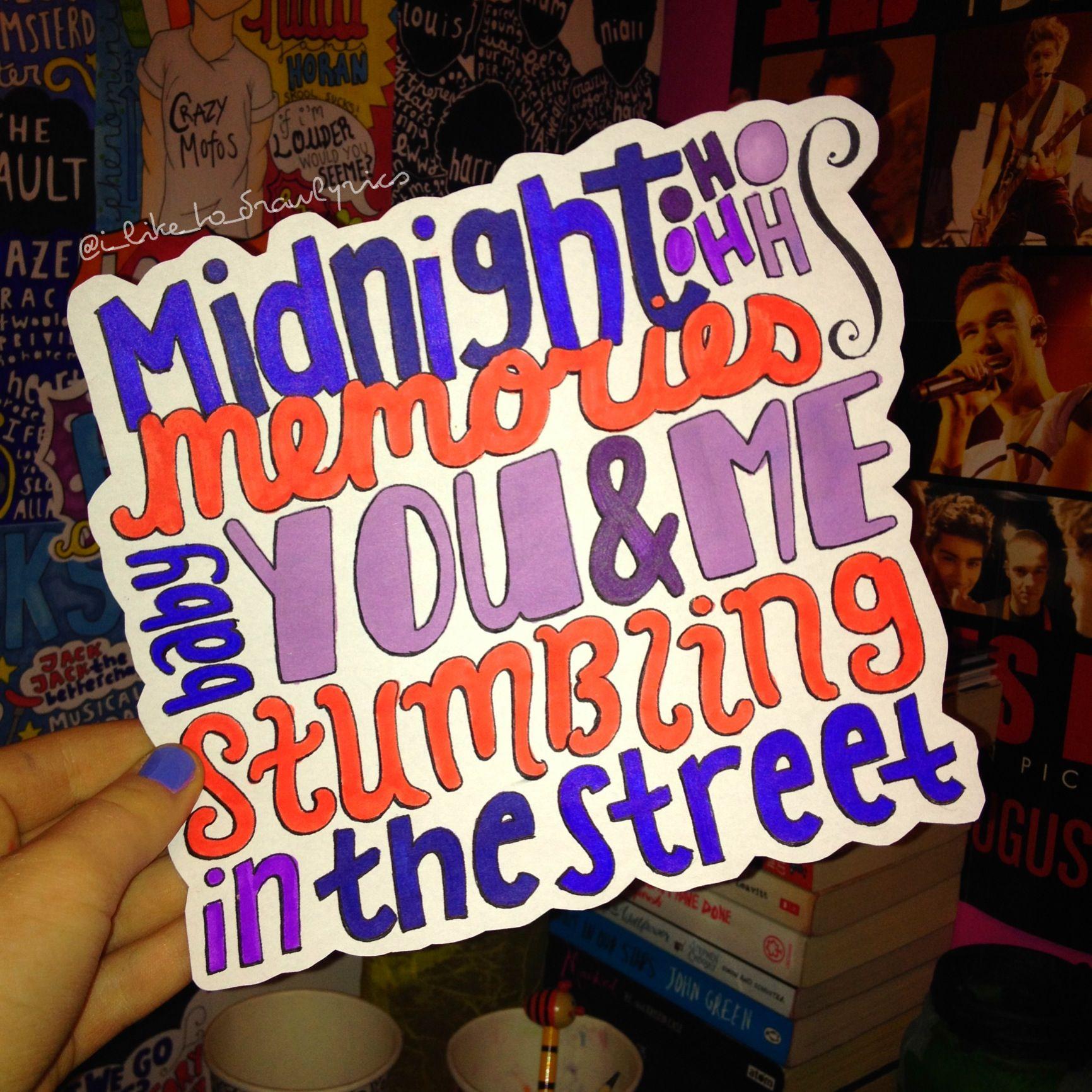 One Direction - Midnight Memories [FULL ALBUM] - YouTube |One Direction Song Quotes Midnight Memories