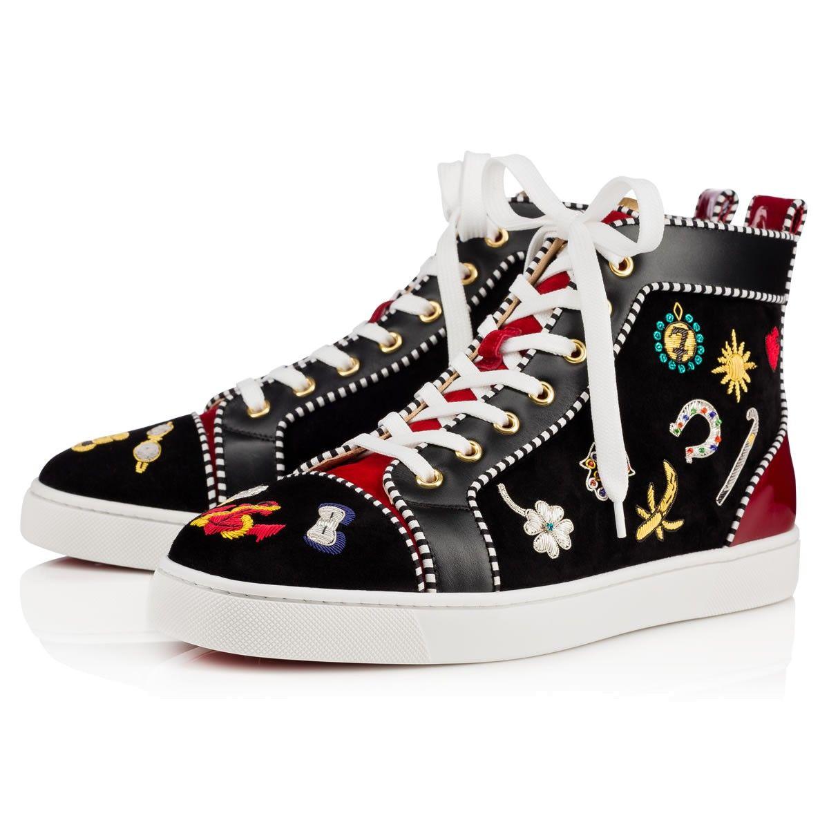Shoes Louis N Luck Men's Flat Christian Louboutin