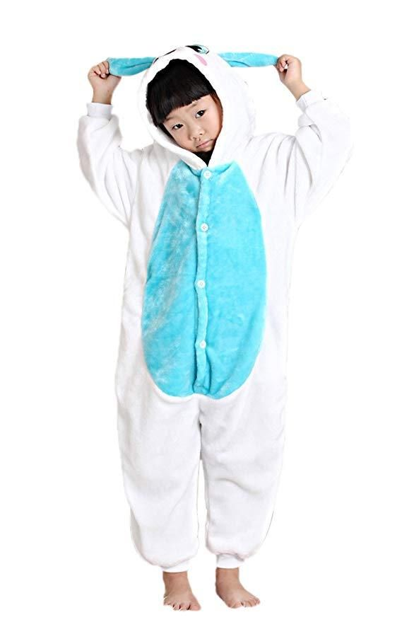 5fa74ac115 Blue Bunny Onesie for Kids in 2019 | Animal Onesies For Kids ...