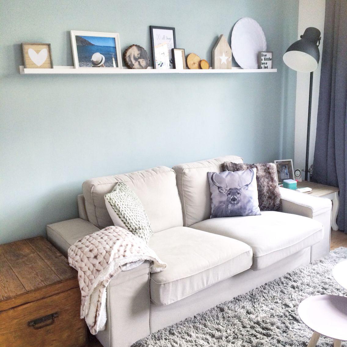 Woonkamer met early dew van flexa, love it! | interior | www ...