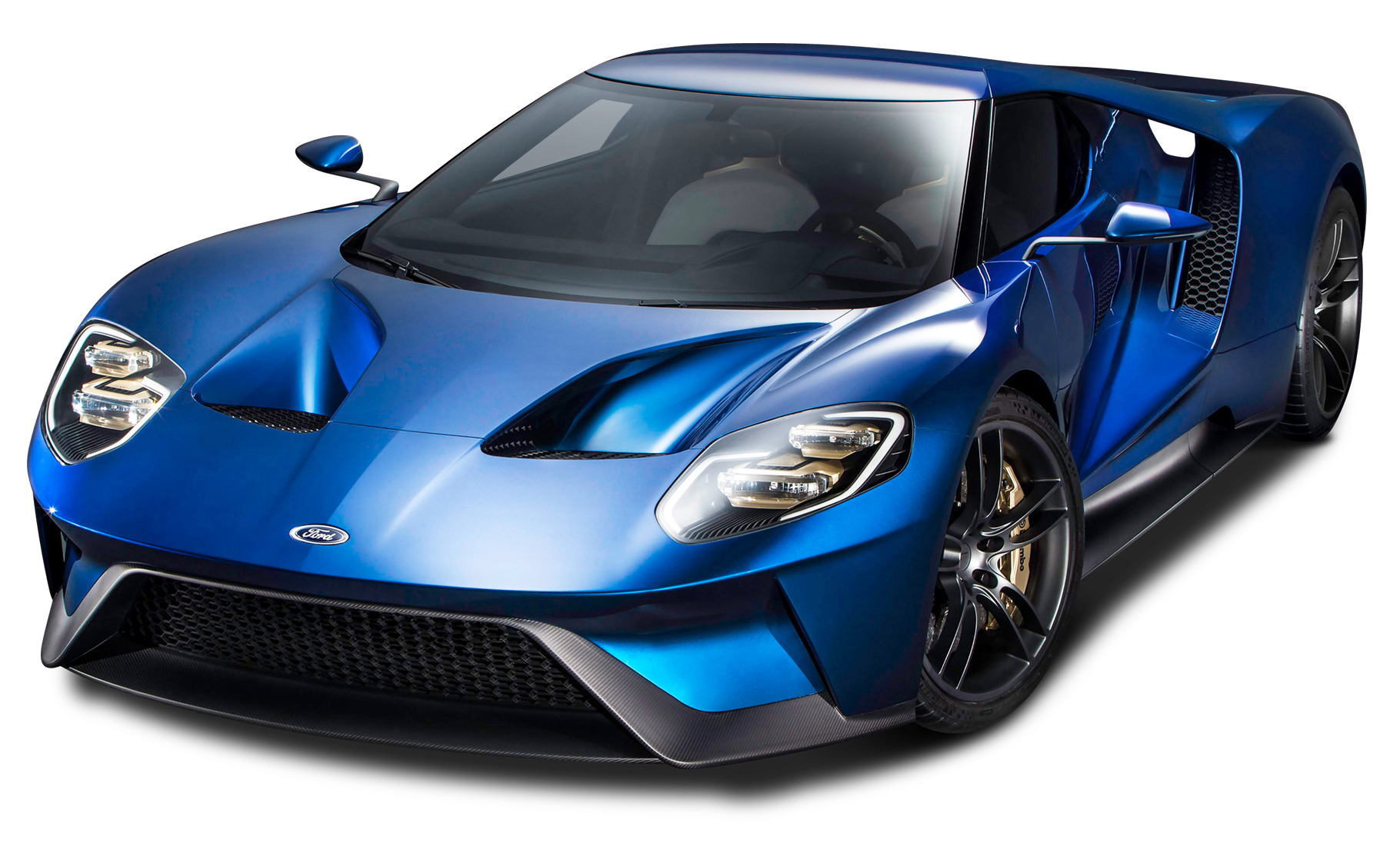 Ford Gt Blue Super Car Png Image Ford Gt Ford Gt 2017 Super Cars