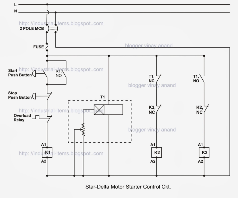 Start Stop Wiring Diagram