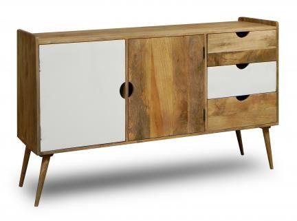 Komoda drewniana Oslo w skandynawskim stylu - unodesign - Komody