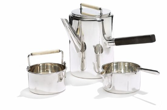 Kay Bojesen Silver Serving Dishes with Ebony Handles. Kay Bojesen silver. Danish Design