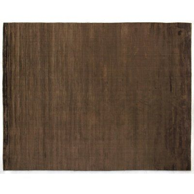 Exquisite Rugs Dove Handwoven Chocolate Area Rug Rug Size
