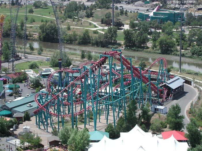The Mind Eraser At Elitch Gardens Rode It Colorado Travel Trip Favorite Places