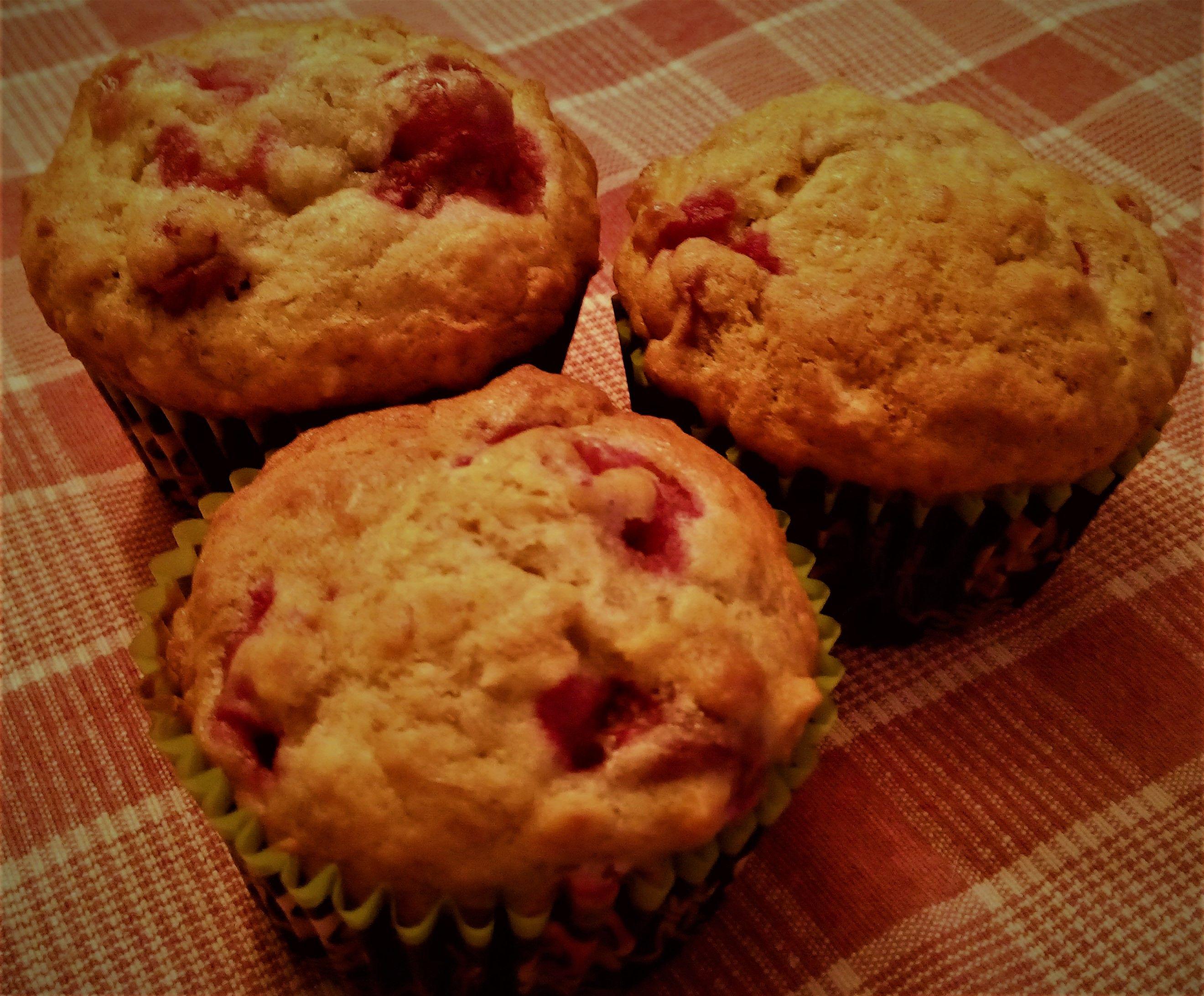 Muffin aux pommes sans gras sans sucre