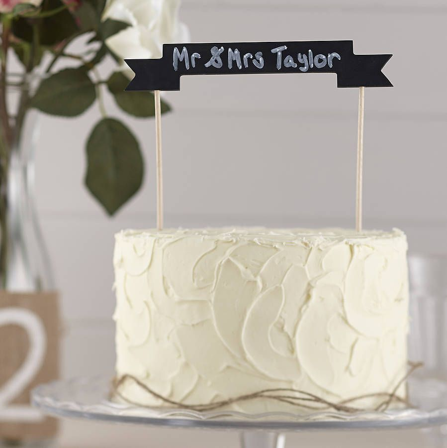 Vintage Lace by Ginger Ray White MR and MRS Wedding cake bunting