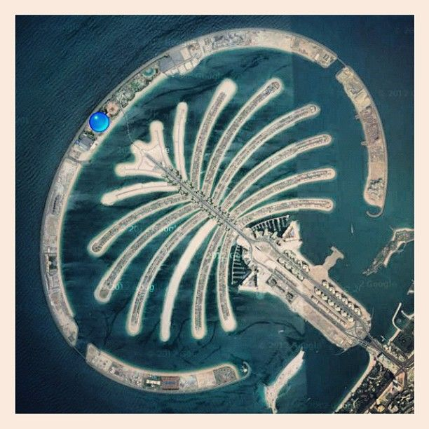 Palm Jumeirah نخلة جميرا Travel Stories Cowboy Art Palm Jumeirah