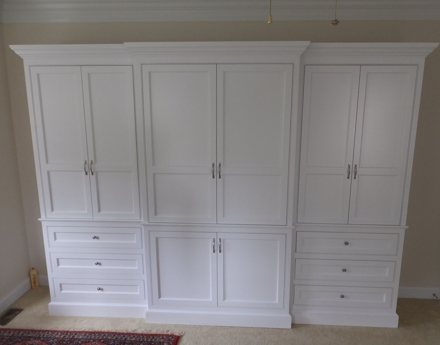 Custom Made Built In Wardrobe Armoire Fitted Bedroom Furniture
