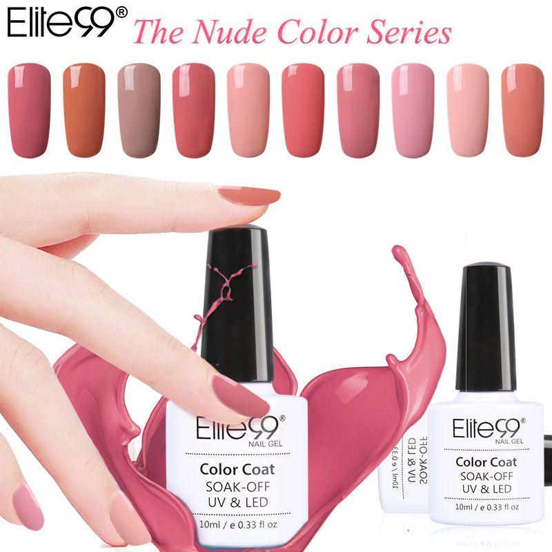 Elite99 Gel Polish Nude Color Series - free shipping worldwide ...