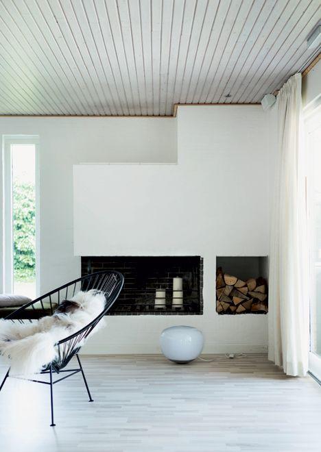 Http://www.boligliv.dk/indretning/indretning/nyt-liv-i-70er-huset ... Designer Huser Innen