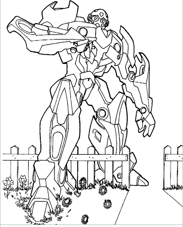 amazing bumblebee transformer coloring page - 28 images - coloriage ...