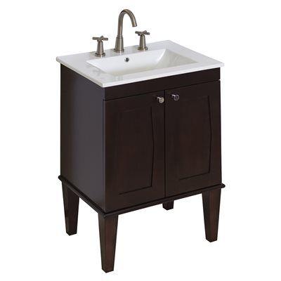 American Imagination AI-4 Roxy 32-in Bathroom Vanity with Ceramic