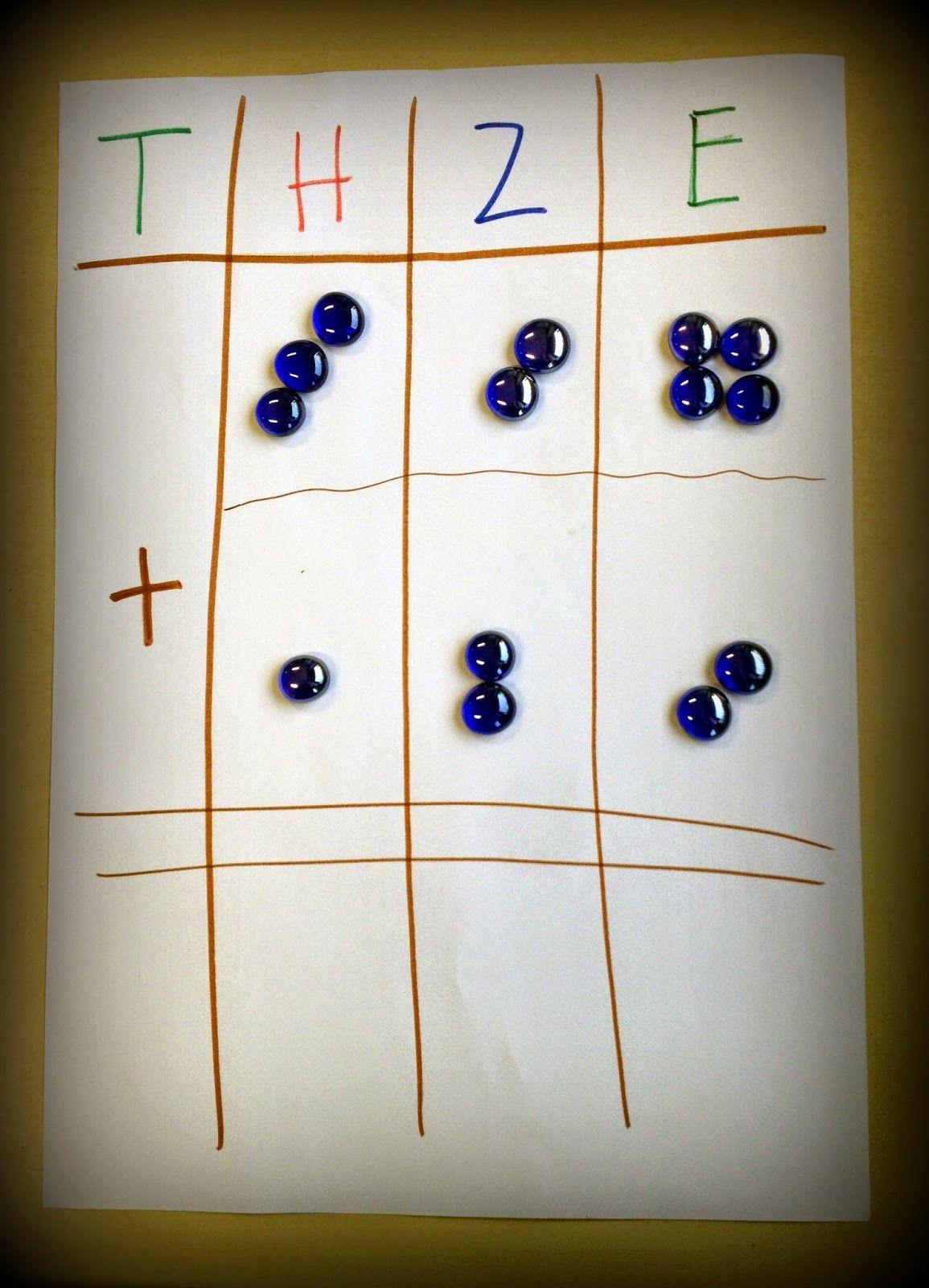 schriftliches addieren matek 34 pinterest mathe