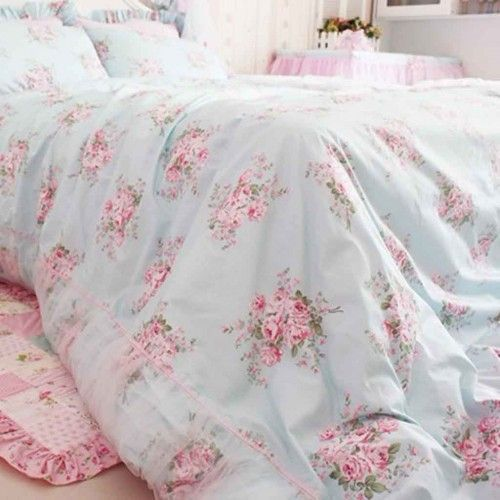 shabby chic bedding Victorian Beds Pinterest