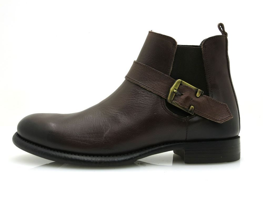 Herren stiefel Business Schuhe Kathamag Chelsea Stiefelette