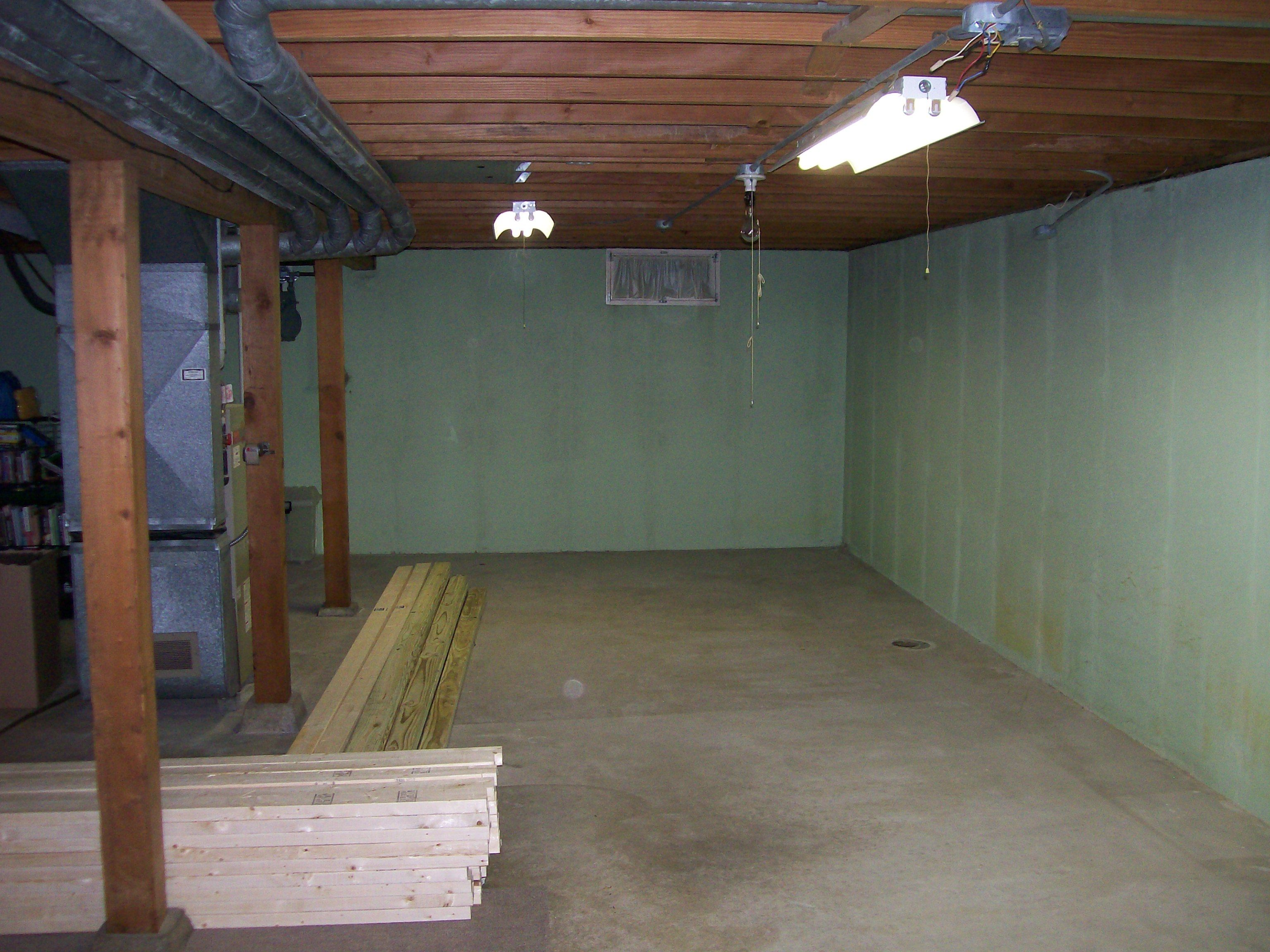 what does it really take to finish a partially finished basement