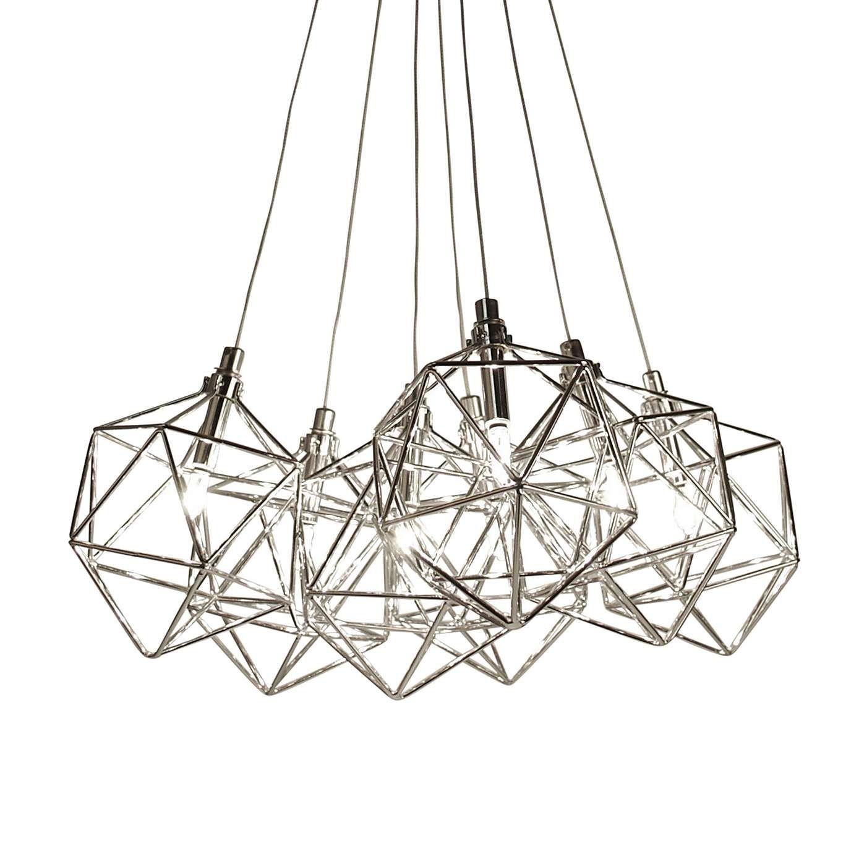 Quinn Chrome Cluster Fitting Dunelm Lounge Ideas Flush Lighting Ceiling Lights Lighting
