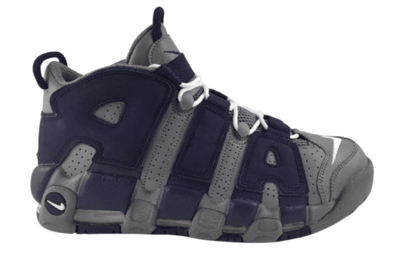 save off 53491 6a337 Chaussures Nike Air More Uptempo 96 BlancFoncé Bleu 921948-101  The Nike  Air More Uptempo Hoyas Gets A New Release Date Previously expected to  release today ...