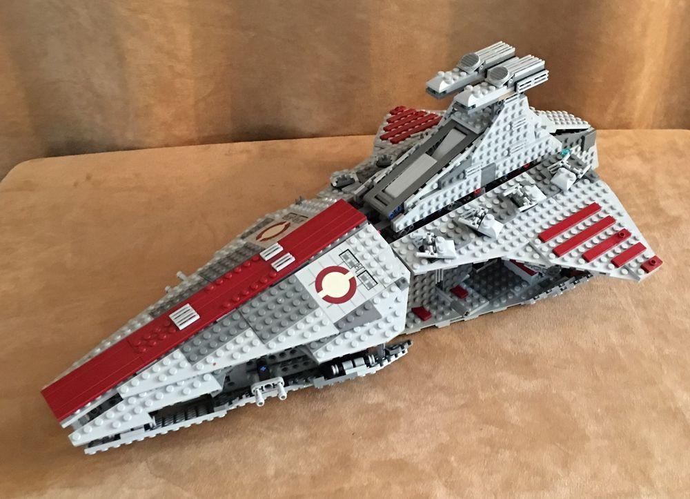 8039 Lego Complete 5 minifigs Star Wars Venator-Class Republic ...