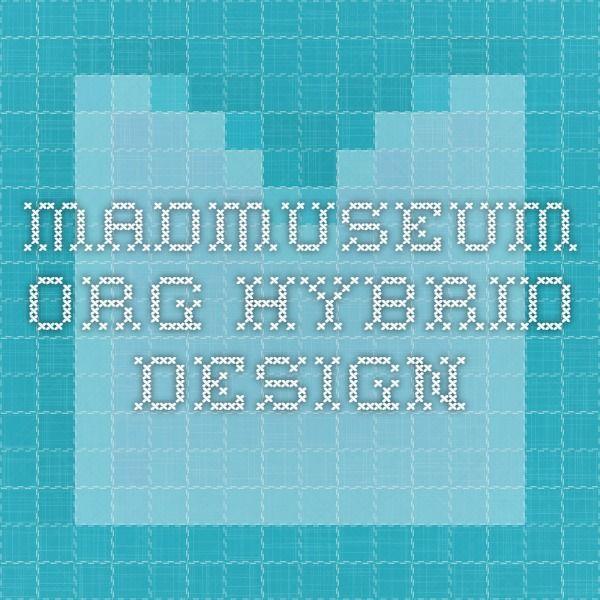 madmuseum.org hybrid design