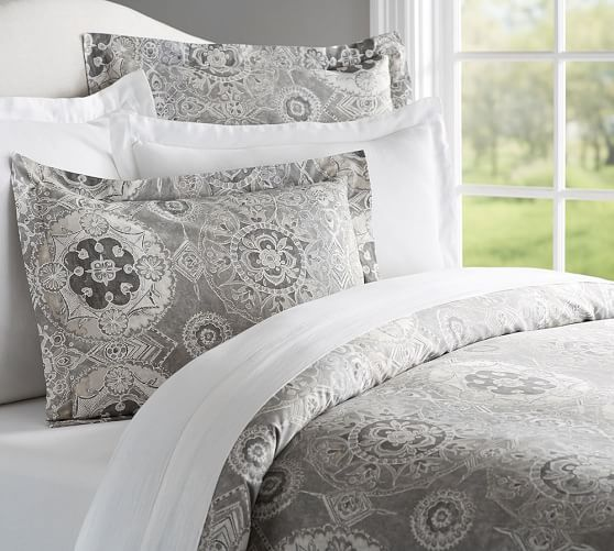 Jacquelyn Medallion Cotton Duvet Cover Amp Shams Pottery