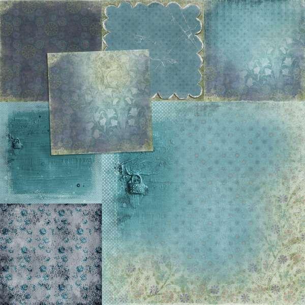 Digital Art :: Dried Garden [Page Kit]