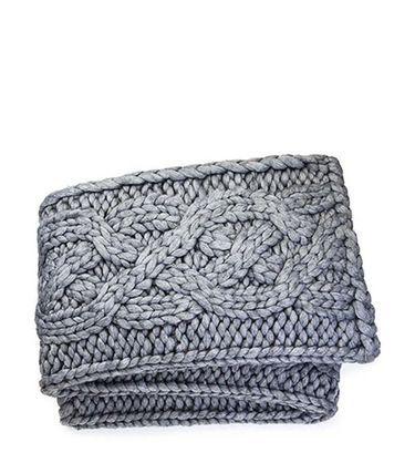 "Oversized Knit Blanket-50x70"""