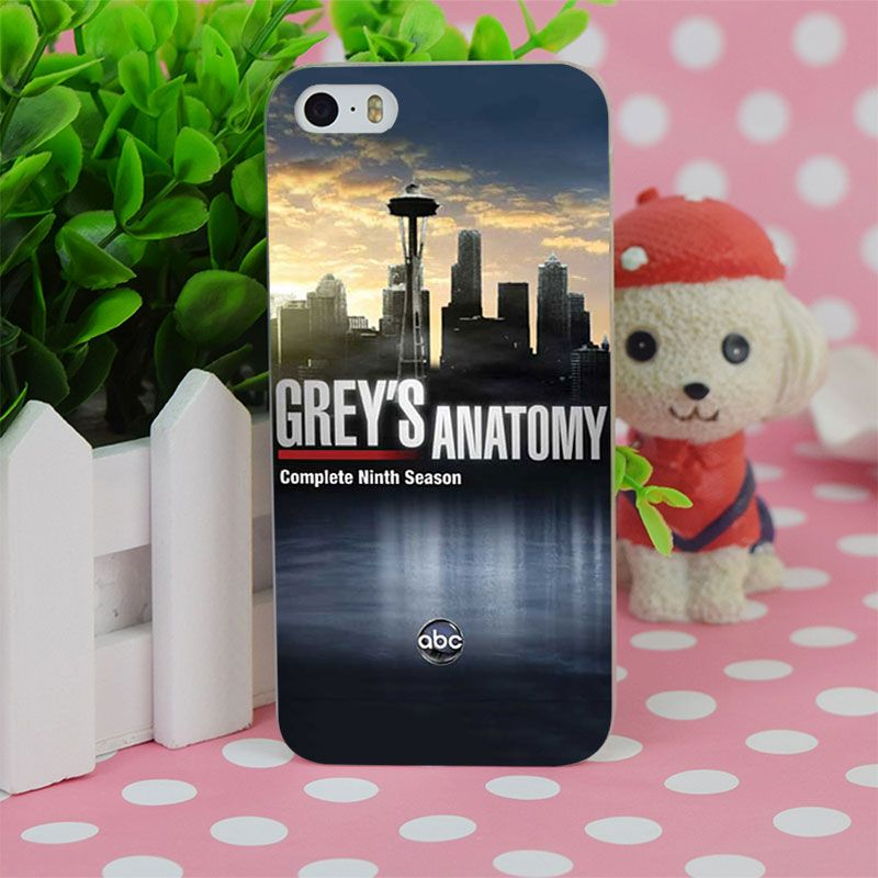 B1551 Grey S Anatomy Transparent Hard Thin Case Cover For Apple ...