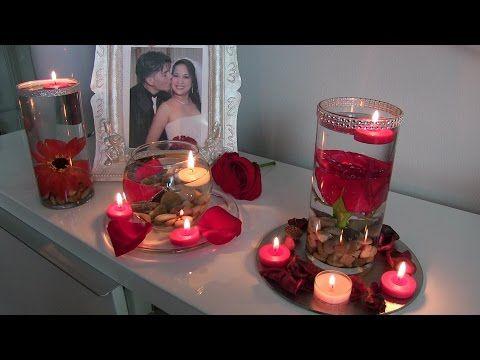 Arreglos para decorar una cita romantica con velas y for Preparar cita romantica