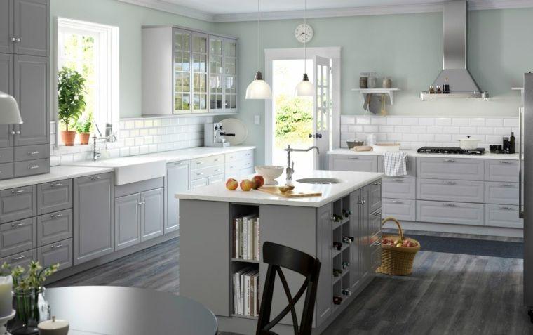 Supérieur Cuisine Ikea Ilot Central #11: Plan-travail-cuisine-ikea-ilot-central-plante-deco.jpg (760×477) | Tricot |  Pinterest | Ikea E Ricerca