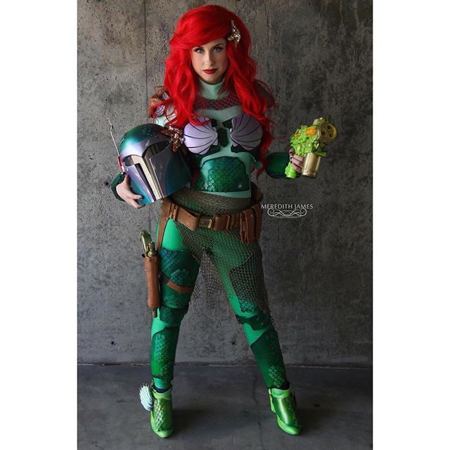27 Ways to Dress Like Ariel This Halloween Ariel, Disney princess - green dress halloween costume ideas
