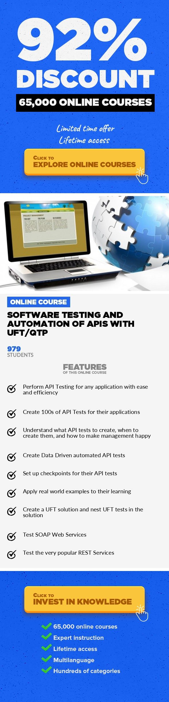 Software Testing And Automation Of Apis With Uftqtp It