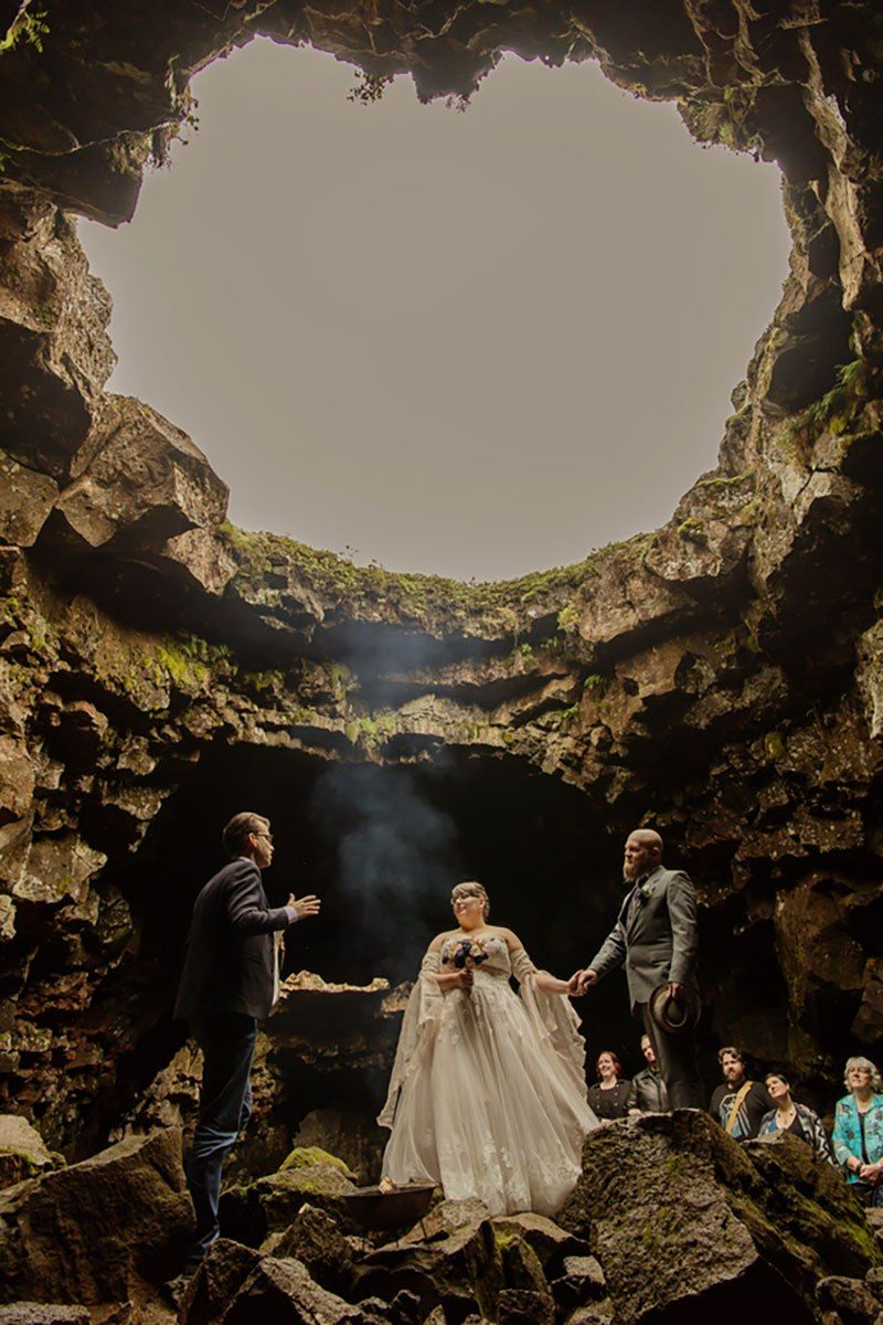 A Gorgeous Norse Cave Wedding In Iceland Iceland Wedding Pagan Wedding Adventure Wedding