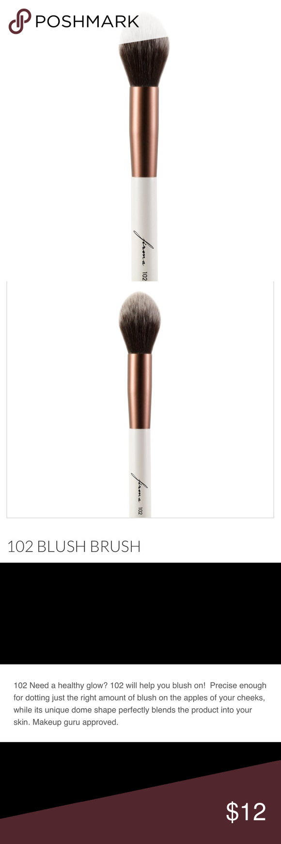 9432a1acf9c Firma 102 Blush Brush Need a healthy glow? The Firma Beauty 102 Elite Blush  Brush